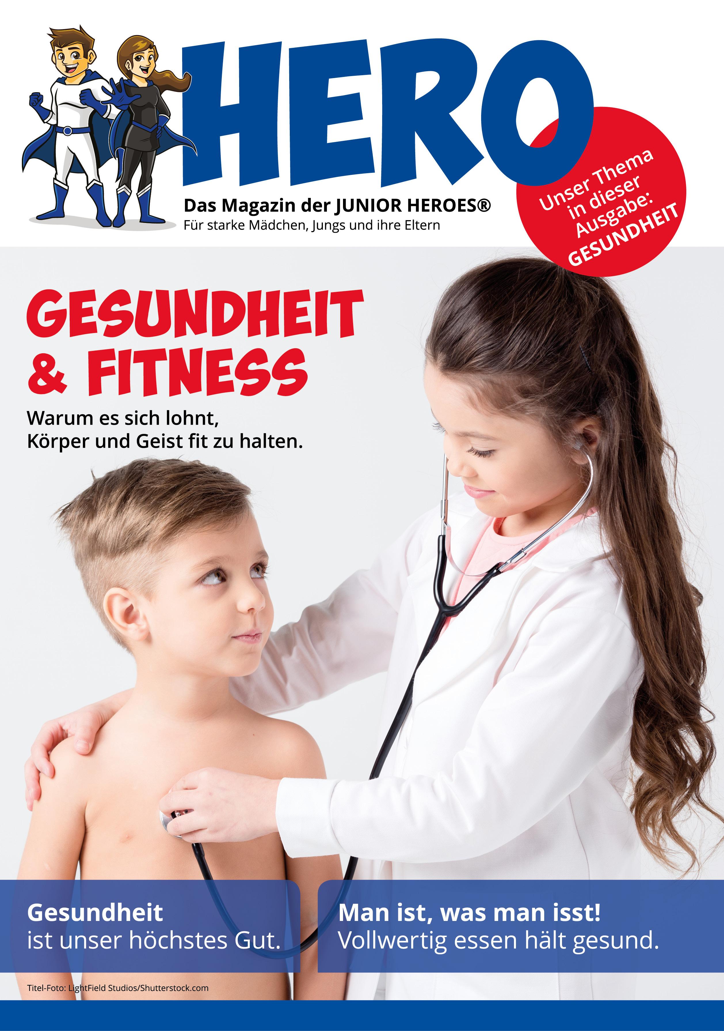 HERO Magazin 04 Thema Gesundheit & Fitness