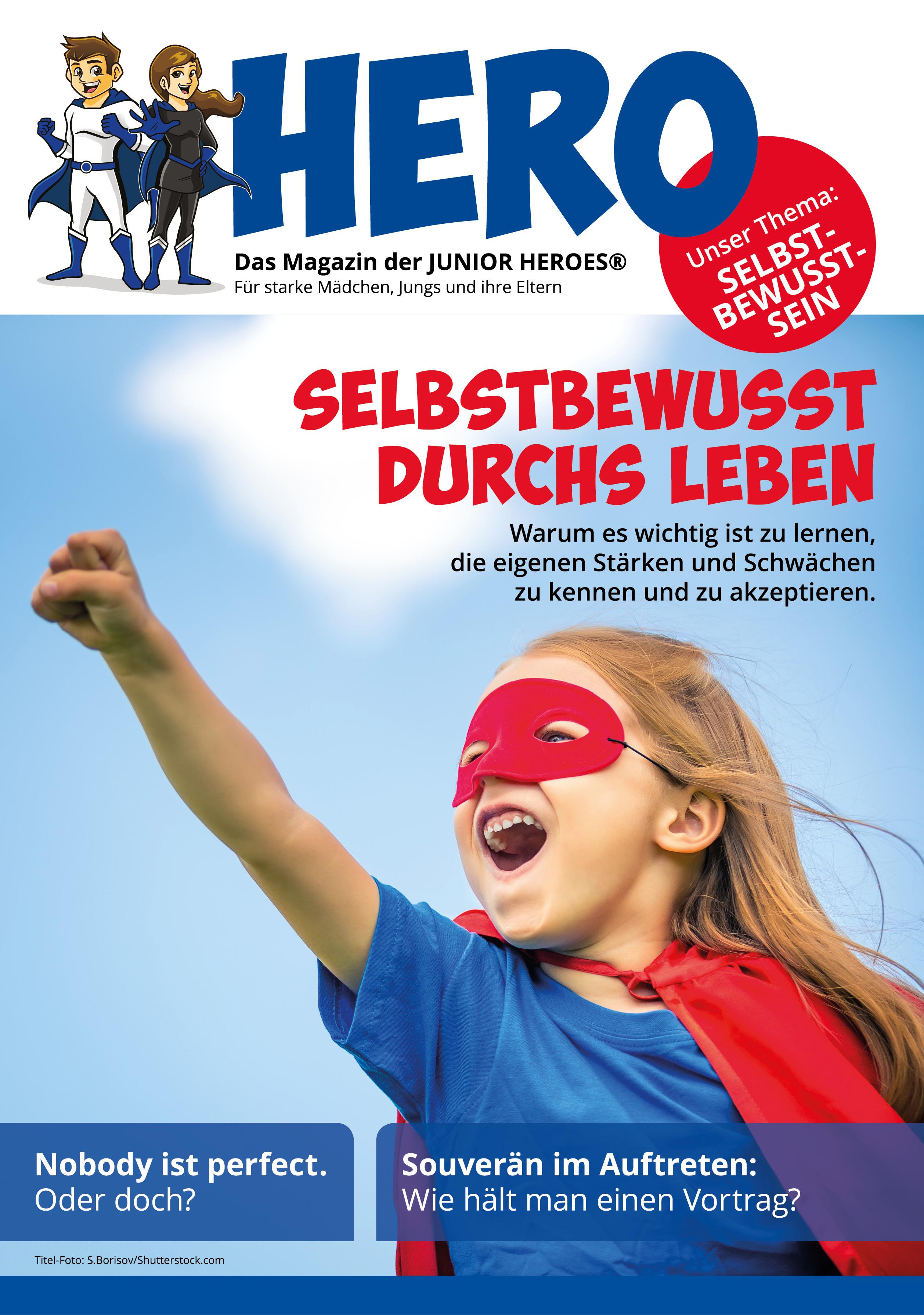 HERO Magazin 05 Thema Selbstbewusstsein